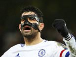 NORWICH, ENGLAND - MARCH 01:  Diego Costa of Chelsea celebrates his team's 2-1 win in the Barclays Premier League match between Norwich City and Chelsea at Carrow Road on March 1, 2016 in Norwich, England.  (Photo by Julian Finney/Getty Images)