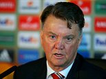 MANCHESTER, ENGLAND - MARCH 09:  Louis van Gaal, manager of Manchester Uniited speaks during a press conference ahead of the UEFA Europa League round of 16 first leg match between Liverpool and Manchester United at Aon Training Complex on March 9, 2016 in Manchester, England.  (Photo by Dave Thompson/Getty Images)