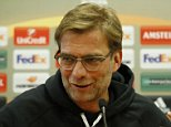 Football Soccer - Liverpool Press Conference - Anfield, Liverpool, England - 9/3/16  Liverpool manager Juergen Klopp during the press conference  Action Images via Reuters / Carl Recine  Livepic  EDITORIAL USE ONLY.