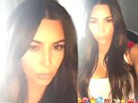 kim kardashian snapchat playing lily allens fuck you