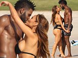 """**Mandetory mention of """"Casa Aramara in Punta Mita""""**\nR&B singer Jason Derulo and girlfriend Daphne Joy show off their toned bodies and enjoy a romantic Mexican vacation together at Casa Aramara in Punta Mita, Mexico at the house owed by Joe Francis. The couple showed lots of affection and PDA as they strolled on the beach together in their swimwear. The couple even enjoyed a kiss together before heading into the water for a bit where Jason even was caught splashing his girlfriend's backside and then took some surfboards to the water later.\nJason was holding Daphne on his back as she laughed.\nThe paid enjoyed some more kisses together by the pool on their second day of the trip and sat in a sunlounger by the beach."""