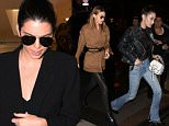 Kendall Jenner Gigi Hadid Bella Hadid and Jaden Smith went shopping at the concept store Colette and had diner whit Kris Jenner at Ferdi Paris ,march 9 th 2016  Pictured: Bella Hadid Ref: SPL1243817  090316   Picture by: KCS Presse / Splash News  Splash News and Pictures Los Angeles: 310-821-2666 New York: 212-619-2666 London: 870-934-2666 photodesk@splashnews.com