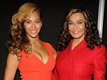 NEW ORLEANS, LA - JANUARY 31:  Beyonce and Tina Knowles pose backstage at the Pepsi Super Bowl XLVII Halftime Show Press Conference at the Ernest N. Morial Convention Center on January 31, 2013 in New Orleans, Louisiana.  (Photo by Kevin Mazur/WireImage)