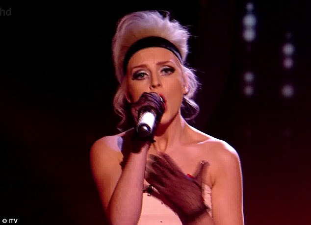 Rising star: Perrie Edwards of Little Mix was singled out as the strongest singer by Gary Barlow