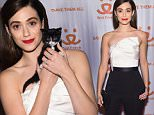 NEW YORK, NY - MARCH 08:  Actress Emmy Rossum attends the New York Notables Gathering at the Best Friends Animal Society Benefit to Save Them All on March 8, 2016 in New York City.  (Photo by Jamie McCarthy/Getty Images for Best Friends Animal Society)