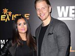 HOLLYWOOD, CA - NOVEMBER 19:  TV personalities Catherine Giudici (L) and Sean Lowe attend We tv's celebration of the premieres of 'Marriage Boot Camp Reality Stars' and 'Ex-isled' at Le Jardin on November 19, 2015 in Hollywood, California.  (Photo by David Livingston/Getty Images)