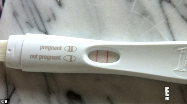 Parenthood! The reel included an image of their positive pregnancy test