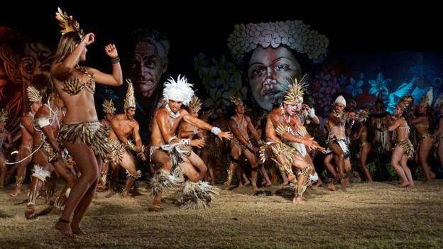 Scenes from Tapati (Credit: Credit: Matt Maynard)