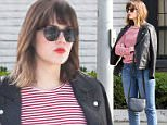 9.March.2016 - Beverly Hills - USA\n*** STRICTLY AVAILABLE FOR UK AND GERMANY USE ONLY ***\nBeverly Hills, CA - Mandy Moore pays the meter as she heads to an appointment at a medical building in the 90210 area. The man accused of stalking Mandy Moore after repeatedly showing up on her doorstep is now officially on notice to stay away. Moore was granted a 3 year restraining order this morning against Salahudin Moultaali. The order says Moultaali must remain 100 yards away from Mandy, her home, vehicles and anywhere she's working.\nBYLINE MUST READ : AKM-GSI-XPOSURE\n***UK CLIENTS - PICTURES CONTAINING CHILDREN PLEASE PIXELATE FACE PRIOR TO PUBLICATION ***\n*UK CLIENTS MUST CALL PRIOR TO TV OR ONLINE USAGE PLEASE TELEPHONE 0208 344 2007*