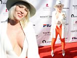 RANCHO MIRAGE, CA - MARCH 08:  Singer Natasha Bedingfield celebrates with Moet & Chandon at the 12th annual Desert Smash at the Westin Mission Hills Golf Resort and Spa on March 8, 2016 in Rancho Mirage, California.  (Photo by Michael Kovac/Getty Images for Moet & Chandon)