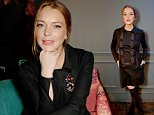 LONDON, ENGLAND - MARCH 10:  Lindsay Lohan attends as Matthew Williamson launches his first furniture collection with Duresta exclusively at Harrods on March 10, 2016 in London, England.  (Photo by David M. Benett/Dave Benett/Getty Images for Harrods)