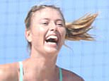 The Embattled Tennis player maintains her training on an LA beach. Maria is continuing to wear NIKE despite rumors she may lose Sponsorship  Pictured: Maria Sharapova Ref: SPL1235853  090316   Picture by: Mark Kreusch / Splash News  Splash News and Pictures Los Angeles: 310-821-2666 New York: 212-619-2666 London: 870-934-2666 photodesk@splashnews.com