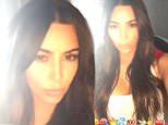 kim kardashian snapchat playing lily allens fuck you