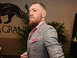 LAS VEGAS, NV - MARCH 05:  Conor McGregor of Ireland arrives during the UFC 196 event inside MGM Grand Garden Arena on March 5, 2016 in Las Vegas, Nevada.  (Photo by Jeff Bottari/Zuffa LLC/Zuffa LLC via Getty Images)