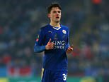 LEICESTER, ENGLAND - JANUARY 20 :  Ben Chilwell of Leicester City during the Emirates FA Cup match between Leicester City and Tottenham Hotspur at King Power Stadium on January 20, 2016 in Leicester, England.  (Photo by Catherine Ivill - AMA/Getty Images)