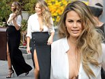 Picture Shows: Chrissy Teigen  March 11, 2016\n \n Pregnant Chrissy Teigen was spotted out and about in Los Angeles, California. The model recently went off on her online haters, using some colorful language, but ultimately wishing them happiness.\n \n Non-Exclusive\n UK RIGHTS ONLY\n \n Pictures by : FameFlynet UK © 2016\n Tel : +44 (0)20 3551 5049\n Email : info@fameflynet.uk.com