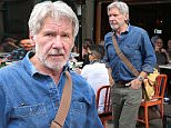 Actor Harrison Ford eats lunch at Bar Pitti in Greenwich Village in New York City on March 10, 2016.\n\nPictured: Harrison Ford\nRef: SPL1244523  100316  \nPicture by: Christopher Peterson/Splash News\n\nSplash News and Pictures\nLos Angeles: 310-821-2666\nNew York: 212-619-2666\nLondon: 870-934-2666\nphotodesk@splashnews.com\n
