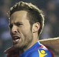 11 March 2016 - The FA Cup - 6th Round - Reading v Crystal Palace - Yohan Cabaye of Crystal Palace celebrates scoring his late penalty with Mile Jedinak - Photo: Marc Atkins / Offside.