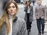 Jacqui Ainsley, wife of Guy Ritchie and stepmother to Rocco Ritchie leaves High Court for lunch today