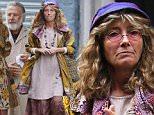 Mandatory Credit: Photo by Startraks Photo/REX/Shutterstock (5612830j)\nEmma Thompson and Dustin Hoffman\n'The Meyerowitz Stories' on set filming, New York, America - 11 Mar 2016\n