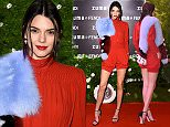 ROME, ITALY - MARCH 10:  Kendall Jenner attends Palazzo FENDI And ZUMA Inauguration on March 10, 2016 in Rome, Italy.  (Photo by Venturelli/Getty Images for FENDI)