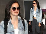 Los Angeles, CA - Shailene Woodley departs LAX on Thursday. The 24-year-old actress is wearing Onepiece joggers and a crop top paired with a denim jacket and wide brim hat.\nAKM-GSI     March 10, 2016\nTo License These Photos, Please Contact :\nSteve Ginsburg\n(310) 505-8447\n(323) 423-9397\nsteve@akmgsi.com\nsales@akmgsi.com\nor\nMaria Buda\n(917) 242-1505\nmbuda@akmgsi.com\nginsburgspalyinc@gmail.com
