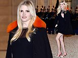 PARIS, FRANCE - MARCH 10:  Model Lara Stone arrives at The State Dinner in Honor Of King Willem-Alexander of the Netherlands and Queen Maxima on March 10, 2016 in Paris, France. Queen Maxima and King Willem-Alexander of The Netherlands are on a two-day state visit in France  (Photo by Pascal Le Segretain/Getty Images)