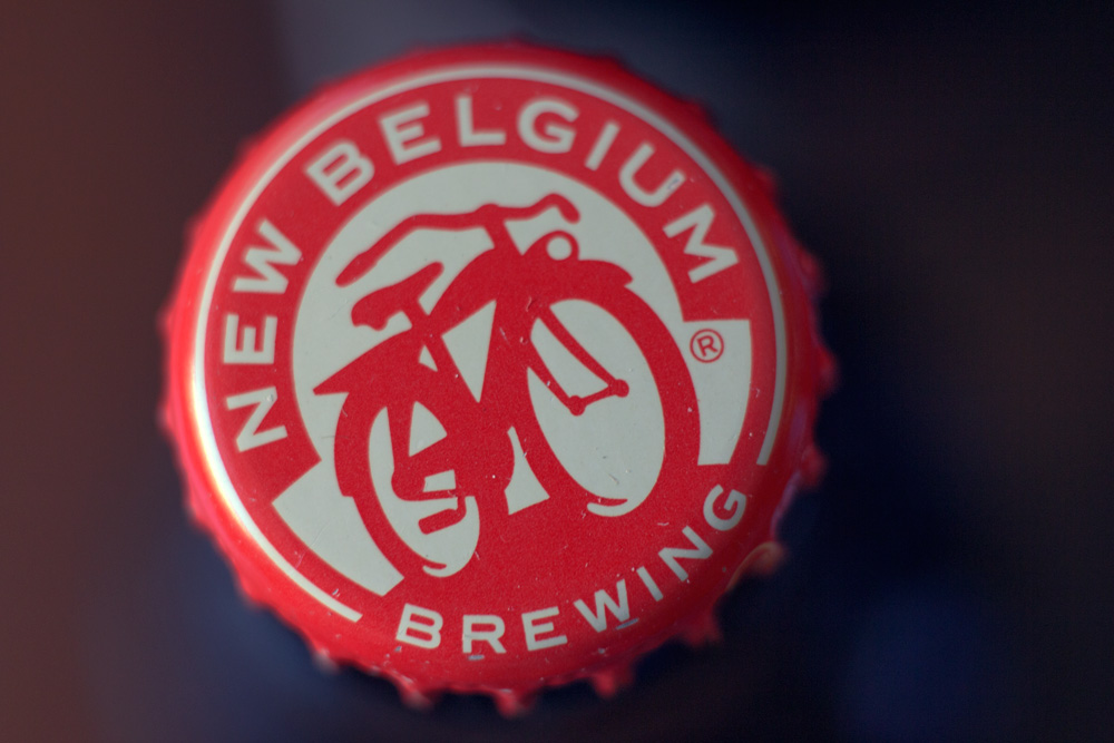 New Belgium Bottle Cap