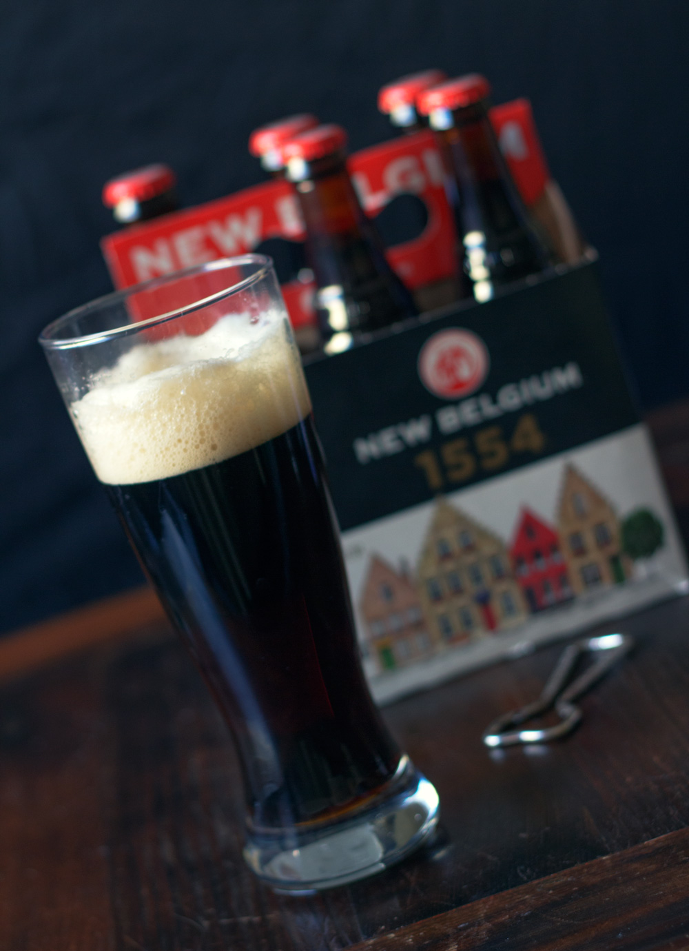 Glass of New Belgium 1554