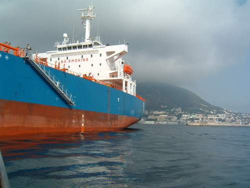 Ship In Gibraltar