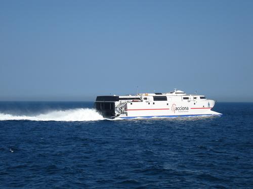 In Gibraltar - MV ALBORAN - Acciona - Trasmediterranea