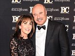 NEW YORK, NY - OCTOBER 20:  (L-R) Robin McGraw and Dr. Phil McGraw attend Broadcasting and Cable Hall Of Fame Awards 25th Anniversary Gala at The Waldorf Astoria on October 20, 2015 in New York City.  (Photo by Rommel Demano/Getty Images)