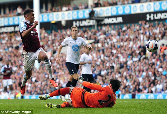 The midfielder has been at West Ham for two-and-a-half years and scored this great solo goal against Spurs