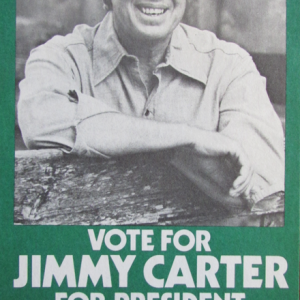 Jimmy Carter Postcard. (Photo courtesy of the New Hampshire Institute of Politics & Political Library at Saint Anselm College)