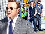 EXCLUSIVE TO INF.\nMarch 10, 2016: Ansel Elgort and Kevin Spacey are back to the set of their new movie, Baby Driver, filming on location in Atlanta, Georgia.\nMandatory Credit: INFphoto.com\nRef:  infusat-06\n