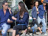 EXCLUSIVE: ** PREMIUM EXCLUSIVE RATES APPLY** STRICTLY NO WEB UNTIL 10PM PST MARCH 10TH** John Stamos shares ice cream with a young mystery woman in West Hollywood, CA. The 52 year-old actor and the young beauty had lunch at Toast where it seems John had stained his blue shirt, the couple then made their way to Carmella's Ice cream shop where they shared flavors and flirted like they were on a first date.\n\nPictured: John Stamos\nRef: SPL1243282  100316   EXCLUSIVE\nPicture by: ?/Splash News\n\nSplash News and Pictures\nLos Angeles: 310-821-2666\nNew York: 212-619-2666\nLondon: 870-934-2666\nphotodesk@splashnews.com\n