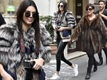 10 mar 2016 - ROME - ITALY  *** ONLY AVAILABLE FOR UK AND USA SALES ***  KRIS JENNER AND KENDALL JENNER OUT IN ROME  BYLINE MUST READ : XPOSUREPHOTOS.COM  ***UK CLIENTS - PICTURES CONTAINING CHILDREN PLEASE PIXELATE FACE PRIOR TO PUBLICATION ***  **UK CLIENTS MUST CALL PRIOR TO TV OR ONLINE USAGE PLEASE TELEPHONE 44 208 370 0291**