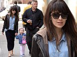 March 9, 2016: Alec Baldwin and his wife Hilaria Baldwin and daughter Carmen Gabriela baldwin are pictured this morning going out for breakfast in New York City. Hilaria announced yesterday that the are expecting a third child.\nMandatory Credit: Elder Ordonez/INFphoto.com Ref: infusny-160