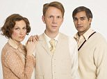 EXCLUSIVE PICTURES FOR BAZ BAMIGBOYE Rosie Hilal , Brian Ferguson and Christopher Simpson in costume for stage version of Brideshead Revisited. DO NOT USE ONLINE BEFORE PRINT - MUST CREDIT HELEN MAYBANKS