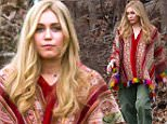 Miley Cyrus in long wig and hippie outfit seen filming Woody Allen's Amazon Project In Upstate New York.\n\nPictured: Miley Cyrus\nRef: SPL1243128  110316  \nPicture by: Allan Bregg / Splash News\n\nSplash News and Pictures\nLos Angeles: 310-821-2666\nNew York: 212-619-2666\nLondon: 870-934-2666\nphotodesk@splashnews.com\n