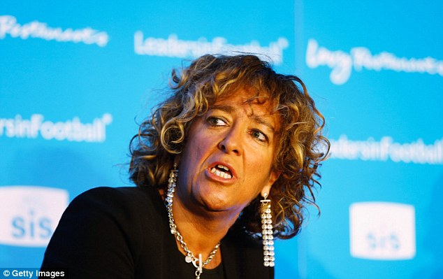 Judgement: FA board member Heather Rabbatts has called for major action in light of the sexism row