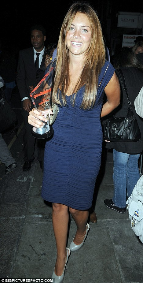 Lacey Turner Inside Soap Awards