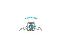 Washing day!