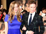 Eddie Redmayne and wife Hannah Bagshawe attend 'The Danish Girl' premier event on March 9, 2016.   Pictured: Eddie Redmayne, Hannah Bagshawe Ref: SPL1212081  090316   Picture by: Splash News  Splash News and Pictures Los Angeles: 310-821-2666 New York: 212-619-2666 London: 870-934-2666 photodesk@splashnews.com