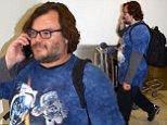 EXCLUSIVE: Jack Black arrives at Sydney International Airport to attend the Australian premiere of 'Kung Fu Panda 3'.\n\nPictured: Jack Black\nRef: SPL1236598  120316   EXCLUSIVE\nPicture by: K Thatcher / Splash News\n\nSplash News and Pictures\nLos Angeles: 310-821-2666\nNew York: 212-619-2666\nLondon: 870-934-2666\nphotodesk@splashnews.com\n