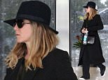 *EXCLUSIVE* Beverly Hills, CA - Jennifer Aniston tries to keep low key in a hat and sunglasses as she heads to the skin care spa. \n  \nAKM-GSI        March 11, 2016\nTo License These Photos, Please Contact :\nSteve Ginsburg\n(310) 505-8447\n(323) 423-9397\nsteve@akmgsi.com\nsales@akmgsi.com\nor\nMaria Buda\n(917) 242-1505\nmbuda@akmgsi.com\nginsburgspalyinc@gmail.com