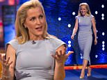 Editorial Use Only. No Merchandising. In US Exclusive Fees Apply - **STRICTLY EMBARGOED UNTIL 00.01 FRIDAY 11TH MARCH 2016** Mandatory Credit: Photo by Brian J Ritchie/REX/Shutterstock (5612241ai) Gillian Anderson 'The Jonathan Ross Show', London, Britain - 12 Mar 2016