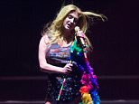 WEST HOLLYWOOD, CA - JUNE 13:  Singer Kesha performs onstage at LA Pride 2015 by Christopher Street West on June 13, 2015 in West Hollywood, California.  (Photo by Amanda Edwards/WireImage)