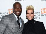 BEVERLY HILLS, CA - MARCH 10:  Actor Terry Crews (L) and Rebecca Crews arrive at the Alliance For Children's Rights' 24th Annual Dinner at The Beverly Hilton Hotel on March 10, 2016 in Beverly Hills, California.  (Photo by Amanda Edwards/WireImage)