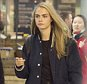 March 12th, 2016 - London *** EXCLUSIVE ALL AROUND PICTURES *** Cara Delevingne seen arriving in London St Pancras from Paris. Cara was sporting wedge monochrome trainer and was carrying a gold headphone.    ****** BYLINE MUST READ : © Spread Pictures ****** ****** Please hide the children\'s faces prior to the publication ****** ****** No Web Usage before agreement ****** ****** Strictly No Mobile Phone Application or Apps use without our Prior Agreement ****** Enquiries at photo@spreadpictures.com